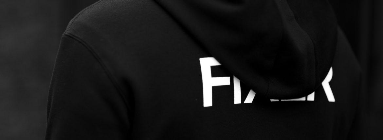 FIXER (フィクサー) FPK-02(エフピーケー02) Sweat Hoodie スウェットフーディー BLACK (ブラック) 【ご予約開始します】【2020.9.12(Sat)~2020.9.27(Sun)】のイメージ