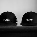 FIXER × NEW ERA (フィクサー × ニューエラ) 59FIFTY® FNE-01 ベースボールキャップ BLACK × WHITE (ブラック × ホワイト) 【Special Special Special Model】【SOLD OUT】のイメージ