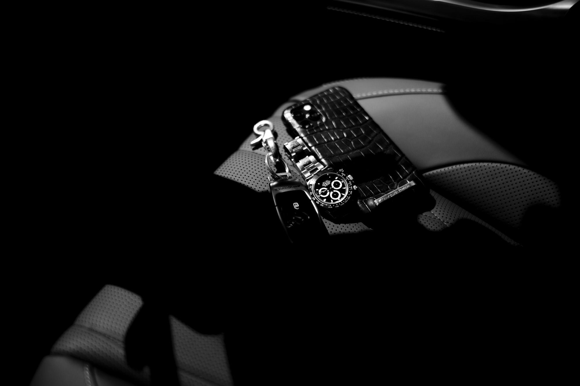 Georges de Patricia(ジョルジュ ド パトリシア) FXX-K Crocodile(エフエックスエックス ケイ クロコダイル) 925 STERLING SILVER (925 スターリングシルバー) iPhone 11 Pro アイフォンケース NOIR (ブラック) 2020 【Special Model】愛知 名古屋 Alto e Diritto アルトエデリット iPhoneケース