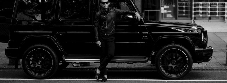 Georges de Patricia (ジョルジュ ド パトリシア) Huracan(ウラカン) 925 STERLING SILVER (925 スターリングシルバー) Super Soft Sheepskin ダブル ライダース ジャケット NOIR (ブラック) 2020のイメージ