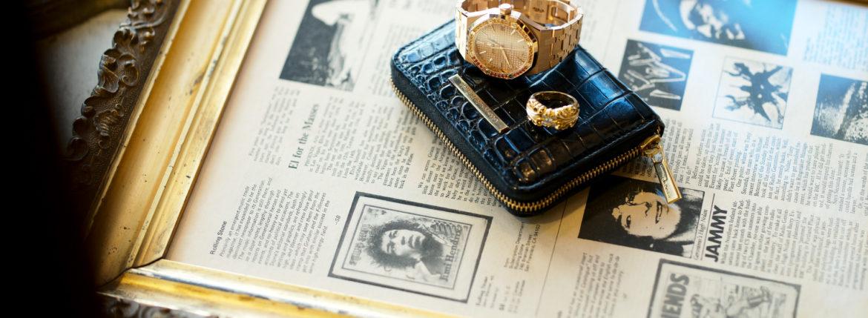 "Georges de Patricia ""Phantom Crocodile 18K GOLD"" × AUDEMARS PIGUET ""Royal Oak 15451OR ORANGE SAPPHIRE"" × CHROME HEARTS ""K&T RING 5 WHITE DIAMOND 22K""のイメージ"
