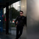 MOLEC (モレック) Single Leather Jacket (シングル レザージャケット) PLONGE Lambskin プロンジェラムレザー シングル ライダース ジャケット NERO (ブラック) Made in italy (イタリア製) 2020 秋冬新作 愛知 名古屋 Alto e Diritto アルトエデリット ライダースジャケット
