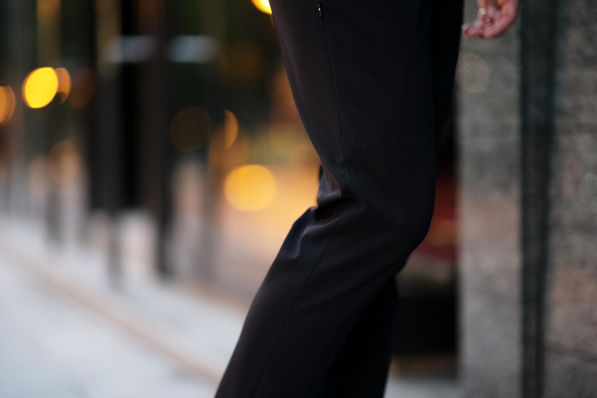 PT TORINO(ピーティートリノ)  Active (アクティブ) KULT BETA ストレッチ ウォッシャブル ナイロン ワンプリーツ スラックス BLACK (ブラック・0990) 2020 秋冬新作愛知 名古屋 altoediritto アルトエデリット