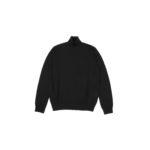 30/70 trentasettanta (トレンタセッタンタ) ottimo #7415 (タートルネック プルオーバー) 21ゲージ シルクカシミア ニット セーター BLACK (ブラック) MADE IN JAPAN (日本製) 2020 秋冬新作のイメージ