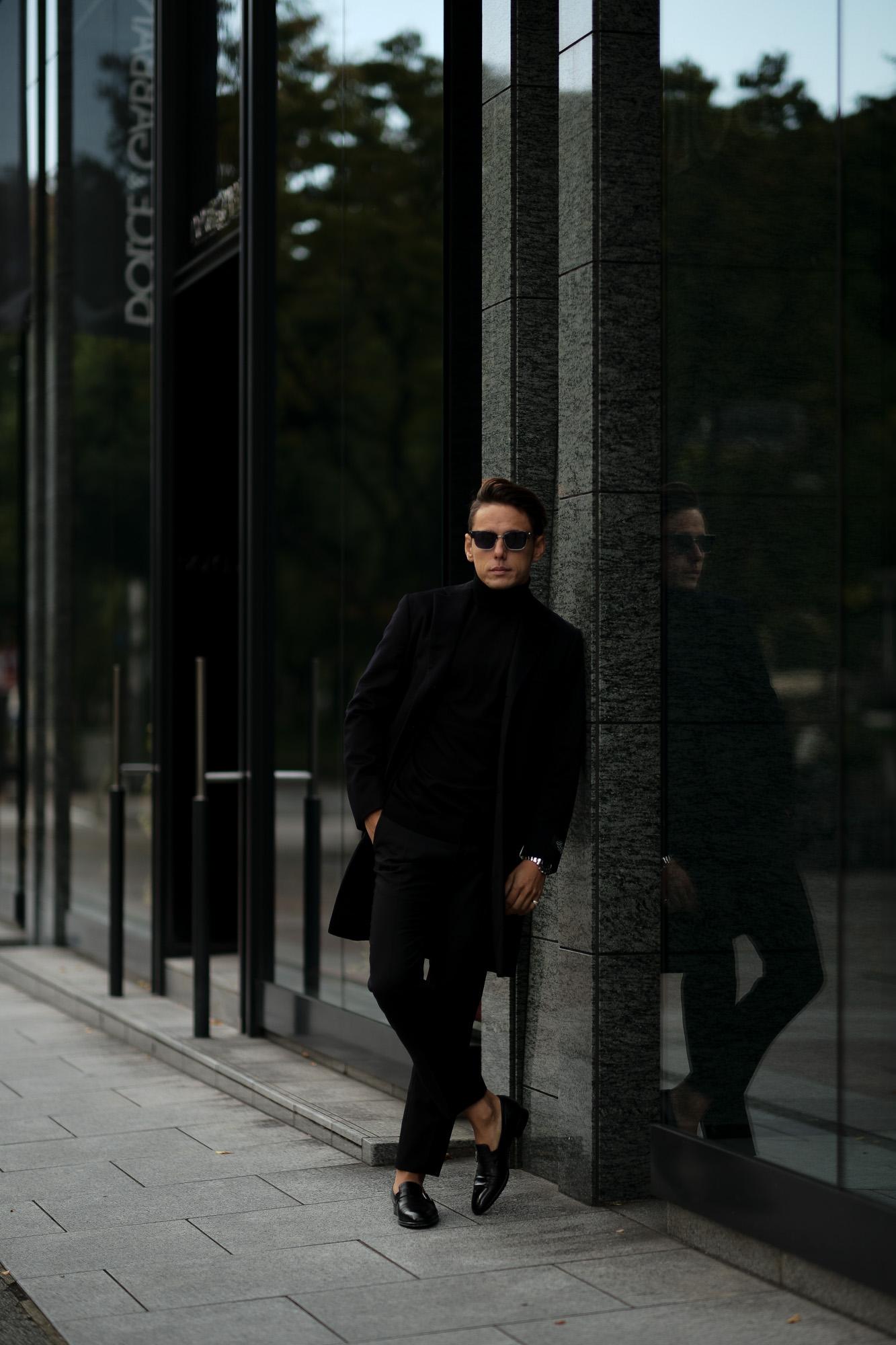 BELVEST ベルベスト Cashmere Chester coat カシミア シングルチェスターコート NAVY ネイビー Made in italy イタリア製 2020 秋冬新作 【Special Model】愛知 名古屋 Alto e Diritto アルトエデリット カシミヤコート カシミアコート