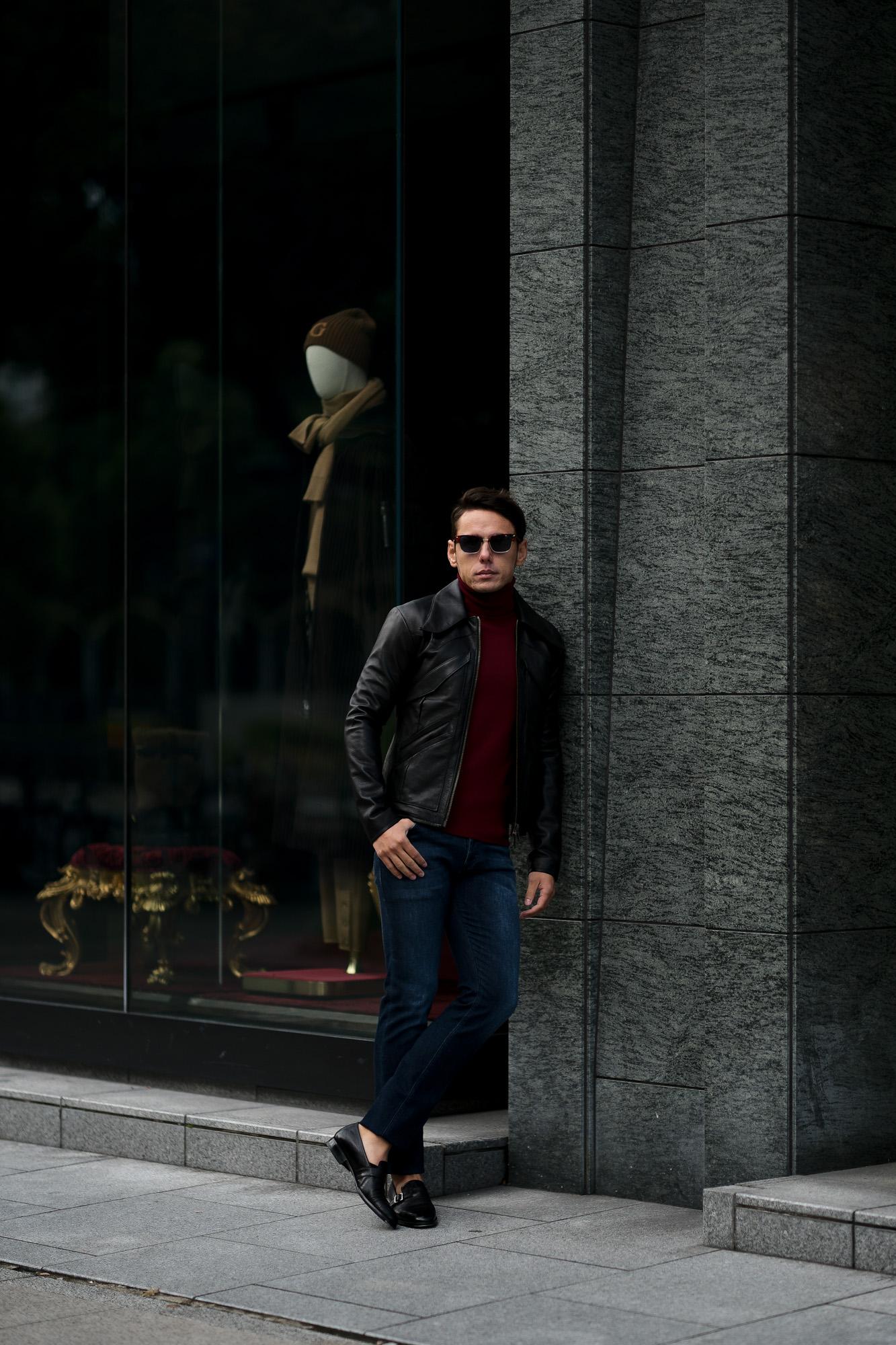 cuervo bopoha (クエルボ ヴァローナ) Satisfaction Leather Collection (サティスファクション レザー コレクション) East West (イーストウエスト) WINCHESTER (ウィンチェスター) BUFFALO LEATHER (バッファロー レザー) レザージャケット BLACK (ブラック) MADE IN JAPAN (日本製) 2020 秋冬新作 愛知 名古屋 altoediritto アルトエデリット