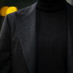 cuervo bopoha(クエルボ ヴァローナ) Gaudí (ガウディ) Ermenegildo Zegna エルメネジルド・ゼニア カシミアジャケット CHARCOAL GRAY (チャコールグレー) MADE IN JAPAN (日本製) 2020秋冬新作 【Special Model】【ご予約開始】のイメージ