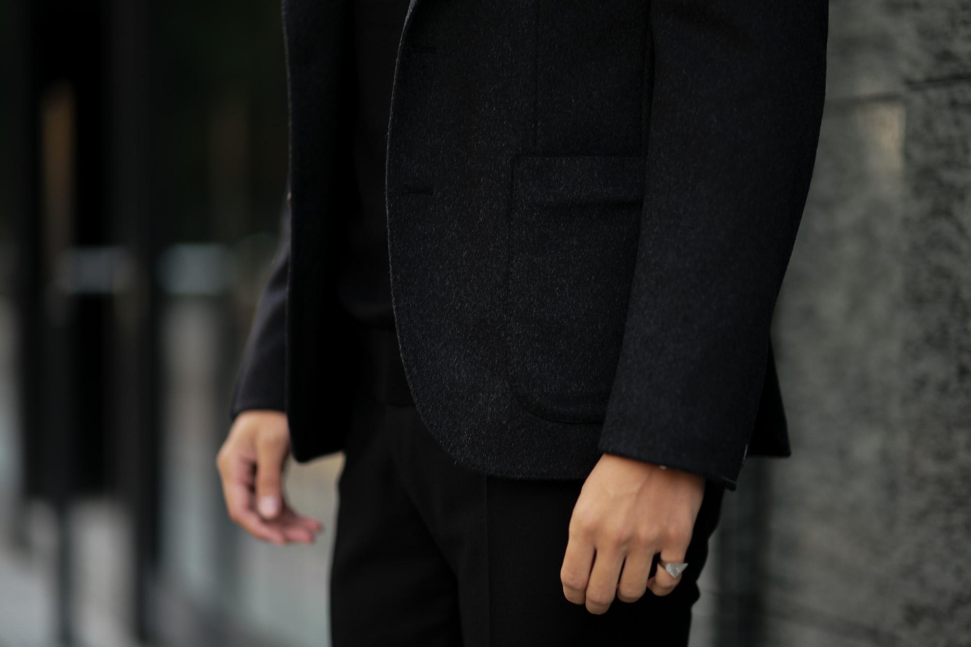 cuervo bopohaクエルボ ヴァローナ Gaudí ガウディ Ermenegildo Zegna エルメネジルド・ゼニア カシミアジャケット CHARCOAL GRAY チャコールグレー 日本製 2020秋冬 SpecialModel 愛知 名古屋 Alto e Diritto アルトエデリット