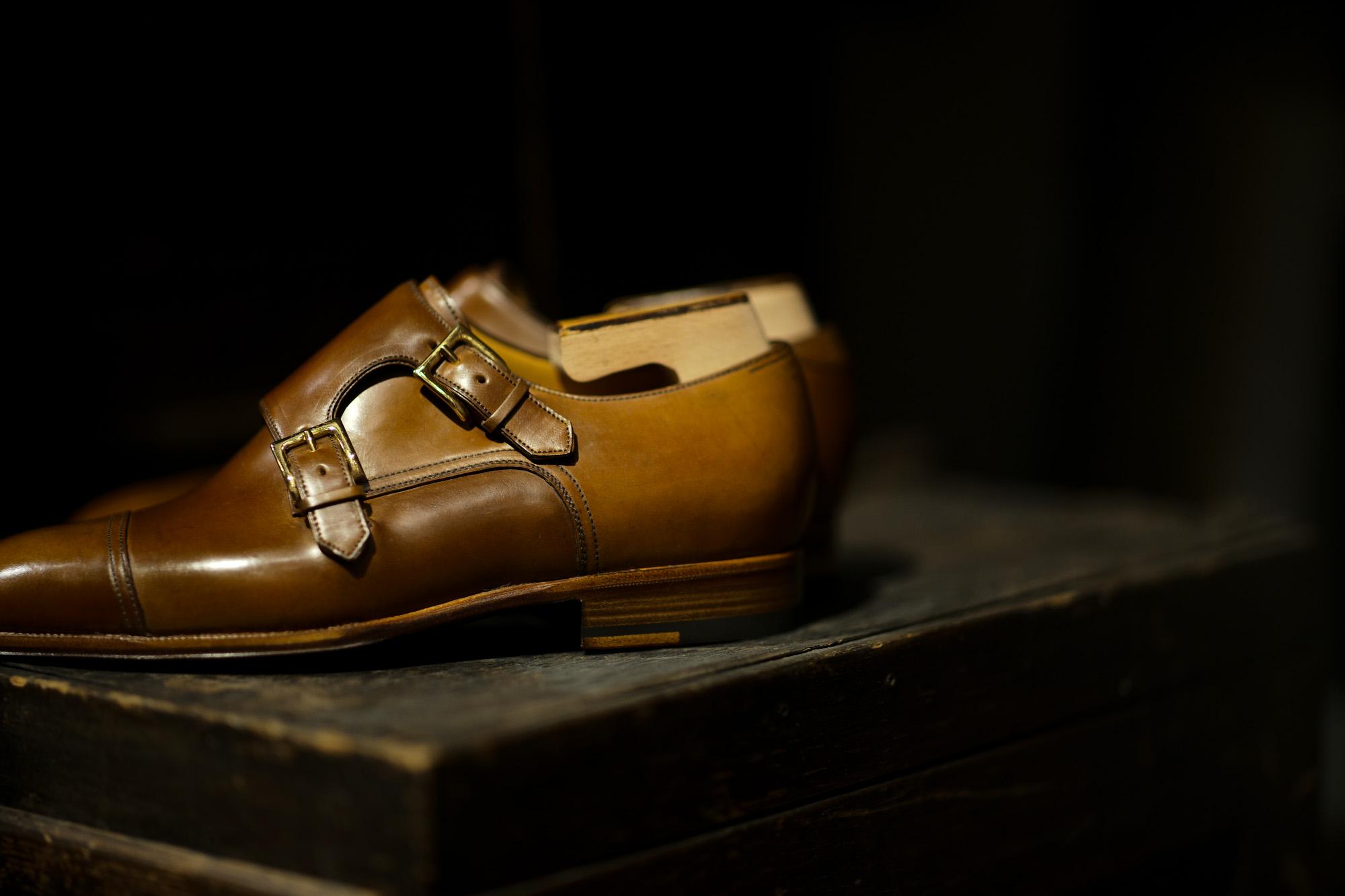 ENZO BONAFE (エンツォボナフェ) ART.EB-27 Double Monk Strap Shoes Horween Shell Cordovan Leather ホーウィン社シェルコードバンレザー ダブルモンクストラップシューズ BOURBON (バーボン) made in italy (イタリア製) 2020 愛知 名古屋 Alto e Diritto アルトエデリット