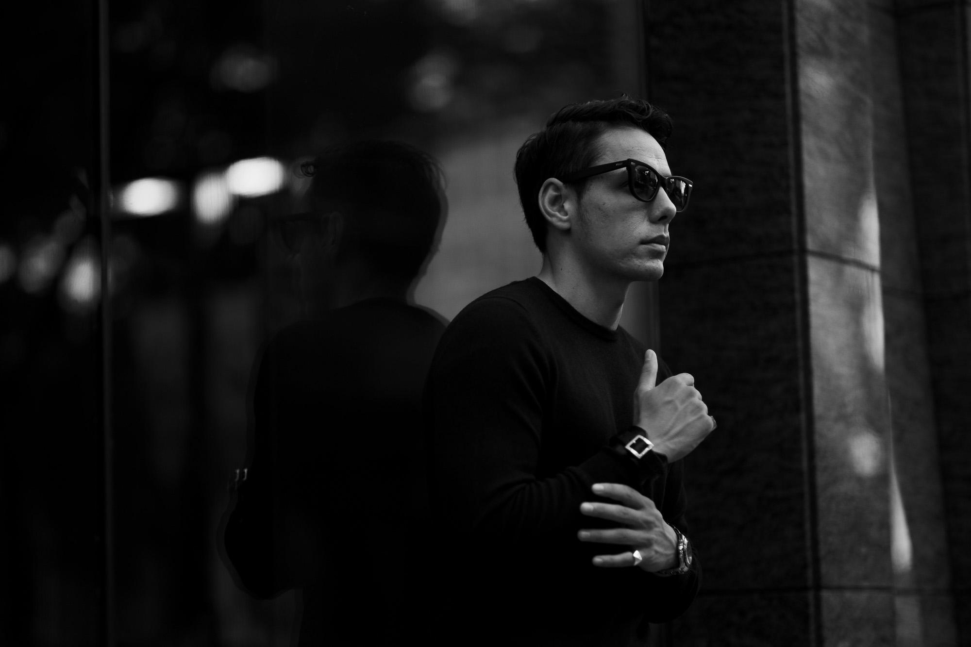 FIXER(フィクサー) BLACK PANTHER(ブラックパンサー) 925 STERLING SILVER サングラス MATTE BLACK (マット ブラック) 愛知 名古屋 Alto e Diritto アルトエデリット 眼鏡 グラサン 925スターリングシルバー スペシャルモデル sunglasses