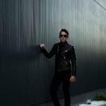 FIXER(フィクサー) F1(エフワン) DOUBLE RIDERS Cow Leather ダブルライダース ジャケット BLACK(ブラック) 【ご予約開始します】【2020.10.17(Sat)~2020.11.01(Sun)】愛知 名古屋 altoediritto アルトエデリット ライダースコーデ レザージャケット レザーコーデ