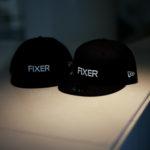 FIXER × NEW ERA (フィクサー × ニューエラ) 59FIFTY® FNE-01 ベースボールキャップ BLACK × WHITE (ブラック × ホワイト) 【Special Special Special Model】【ご予約受付中】【2020.9.26(Sat)~2020.10.11(Sun)】のイメージ