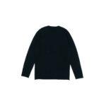 lucien pellat-finet(ルシアン ペラフィネ) Cashmere Crew Neck Sweater カシミア クルーネック セーター BLACK (ブラック) made in scotland (スコットランド製) 2021 秋冬新作 【Alto e Diritto 別注 // 無地】のイメージ