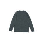 lucien pellat-finet(ルシアン ペラフィネ) Cashmere Crew Neck Sweater カシミア クルーネック セーター DERBY GREY (チャコールグレー) made in scotland (スコットランド製) 【Alto e Diritto 別注 // 無地】のイメージ