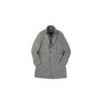 MONTECORE (モンテコーレ) Chester coat (チェスターコート) VITALE BARBERIS CANONICO (ヴィターレ バルベリス カノニコ) フラノウール ダウン チェスターコート GREGE (グレージュ・26) Made in italy (イタリア製) 2020 秋冬新作 【入荷しました】【フリー分発売開始】のイメージ
