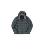 MONTECORE (モンテコーレ) Down Jacket (ダウンジャケット) フラノウール ダウンジャケット GREY (グレー・97) Made in italy (イタリア製) 2020 秋冬新作 【入荷しました】【フリー分発売開始】のイメージ