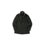 MONTECORE (モンテコーレ) P-coat (Pコート) LoroPiana (ロロピアーナ) RAIN SYSTEM レインシステム フラノウールシルク ダウン ピーコート OLIVE (オリーブ・38) 2020 秋冬新作  【入荷しました】【フリー分発売開始】のイメージ