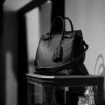 ACATE × cuervo bopoha (アカーテ × クエルボ ヴァローナ) GHIBLI (ギブリ) Montblanc leather (モンブランレザー) トートバッグ レザーバッグ NERO (ネロ) MADE IN ITALY (イタリア製) 2021 【Special Special Special Model】【第3便ご予約受付中】のイメージ