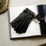 ALPO (アルポ) Peccary Cashmere Lining Gloves (ペッカリー カシミア ライニング グローブ) カシミア100% ライニング ペッカリー 手袋 グローブ NERO (ブラック) Made in italy (イタリア製) 2020 秋冬新作 【Special Glove】【Alto e Diritto 別注】 【入荷しました】【フリー分発売開始】のイメージ