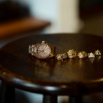 "AUDEMARS PIGUET ""Royal Oak 15451OR ORANGE SAPPHIRE"" × CHROME HEARTS ""K&T RING 5 WHITE DIAMOND 22K"" × CHROME HEARTS ""Keeper Ring 22K"" × CHROME HEARTS ""DAGGER RING 22K"" × FIXER ""ILLUMINATI EYES RING FULL PAVE WHITE DIAMOND 22K GOLD"" × FIXER ""ILLUMINATI EYES RING WHITE DIAMOND 22K GOLD SP"" オーデマピゲ ロイヤルオーク オレンジサファイヤ クロムハーツ KTリング 5ダイヤ キーパーリング ダガーリング フィクサー イルミナティ アイズリング フルパヴェ ホワイトダイヤモンド 愛知 名古屋 Alto e Diritto altoediritto アルトエデリット スペシャルコーディネート 宝物 傷だらけまるけ"