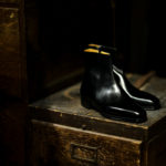 ENZO BONAFE(エンツォボナフェ) ART.3993 Zip up Boots Du Puy Vitello デュプイ社ボックスカーフ ジップアップブーツ NERO (ブラック) made in italy (イタリア製) 2020 秋冬新作のイメージ