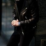FIXER(フィクサー) F1(エフワン) DOUBLE RIDERS Cow Leather ダブルライダース ジャケット BLACK(ブラック) 【ご予約開始します】【2020.11.22(Sun)~2020.12.06(Sun)】愛知 名古屋 altoediritto アルトエデリット ライダースコーデ レザージャケット レザーコーデ