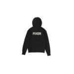 FIXER (フィクサー) FPK-02(エフピーケー02) Sweat Hoodie スウェットフーディー BLACK (ブラック) 愛知 名古屋 altoediritto アルトエデリット パーカー プリントロゴ ロゴプリント 肉厚 裏サーマル 2rd coming soon