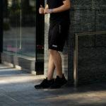 FIXER (フィクサー) FPT-02(エフピーティー02) Technical Jersey Short Pants テクニカルジャージー ショートパンツ BLACK (ブラック) 【ご予約開始】【2020.11.22(Sun)~2020.12.06(Sun)】のイメージ
