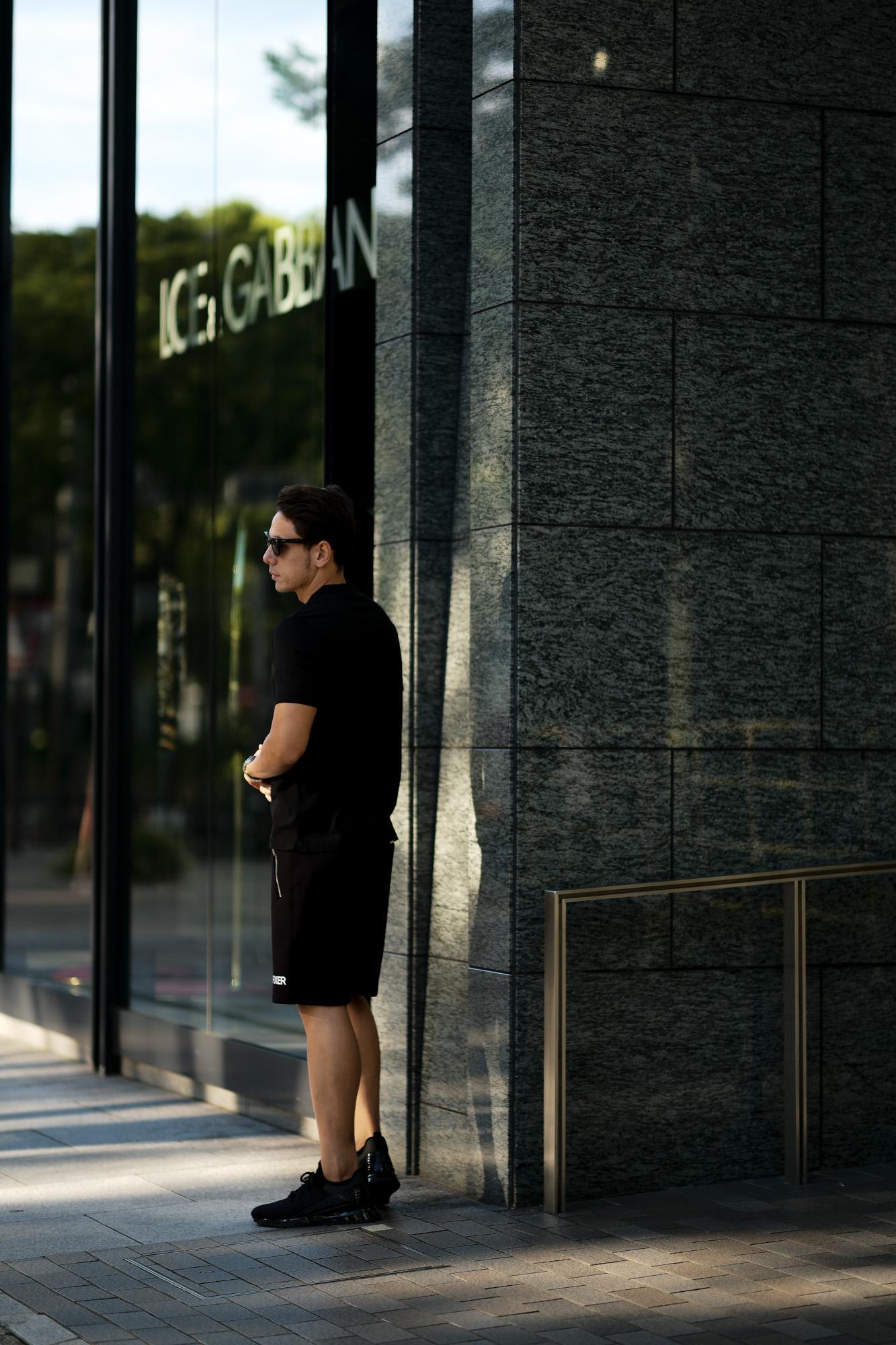 FIXER (フィクサー) FPT-02(エフピーティー02) Technical Jersey Short Pants テクニカルジャージー ショートパンツ BLACK (ブラック) 愛知 名古屋 Alto e Diritto altoediritto アルトエデリット ショーツ