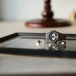 "FIXER ILLUMINATI EYES RING PLATINUM PT 950 × AUDEMARS PIGUET ""Royal Oak 26331ST""のイメージ"