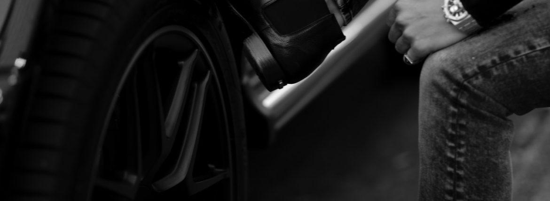 Georges de Patricia(ジョルジュ ド パトリシア) Diablo (ディアブロ) 925 STERLING SILVER (925 スターリングシルバー) Shrunken Calf (シュランケンカーフ) サイドゴアブーツ NOIR (ブラック) 2020 秋冬新作 【Special Boots】アルトエデリット ジョルジュドパトリシア ブーツ 超絶ブーツ ランボルギーニ ディアブロ lamborghini AUDEMARS PIGUET Royal Oak 26331ST オーデマピゲ ロイヤルオーク ステンレス クロノグラフ