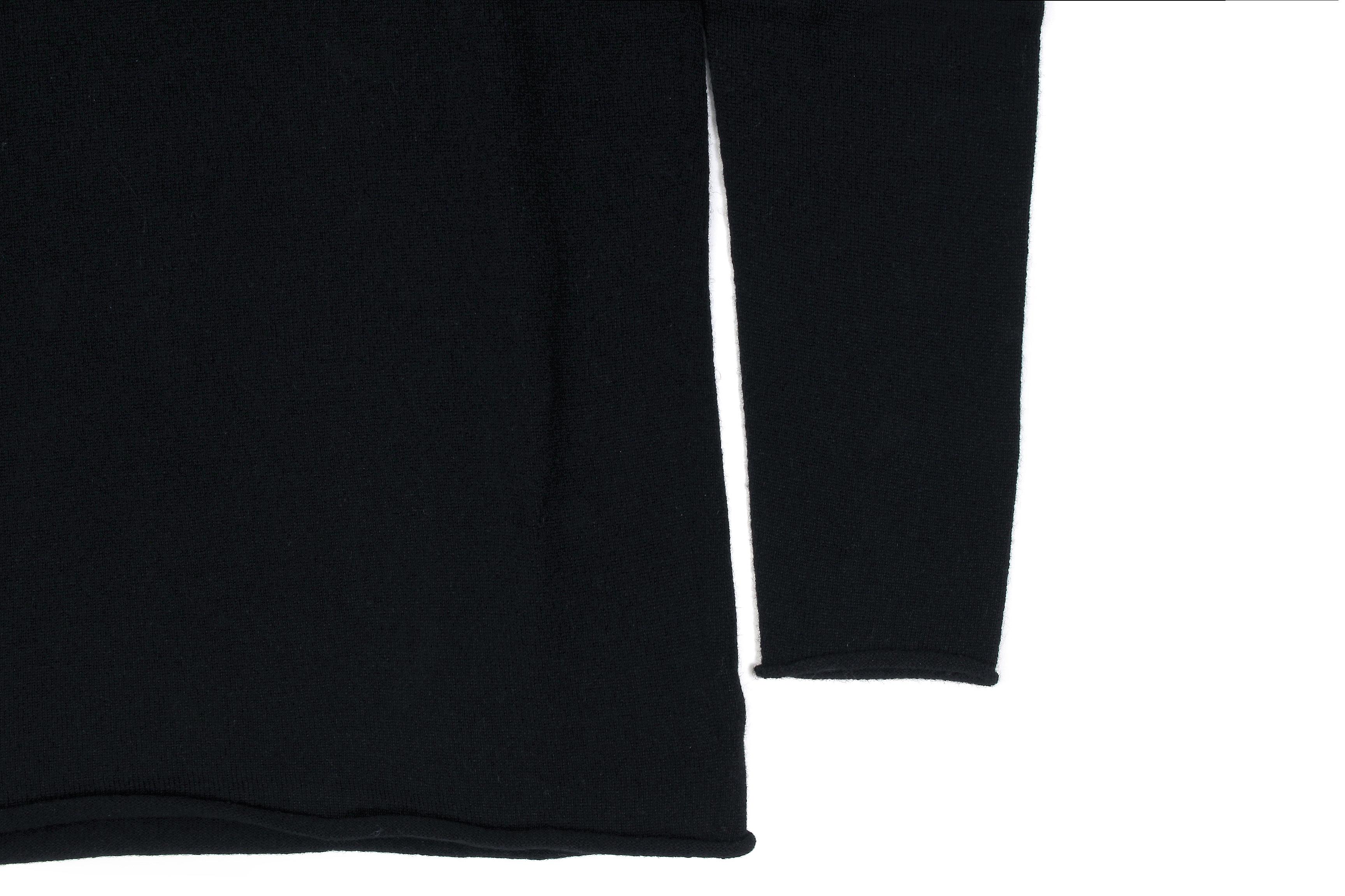 lucien pellat-fine (ルシアン ペラフィネ) Cashmere Roll Neck Sweater カシミア タートルネック セーター BLACK (ブラック) made in scotland (スコットランド製) 2020 秋冬新作 【入荷しました】【フリー分発売開始】愛知 名古屋 Alto e Diritto altoediritto アルトエデリット
