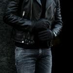ALPO (アルポ) Peccary Cashmere Lining Gloves (ペッカリー カシミア ライニング グローブ) カシミア100% ライニング ペッカリー 手袋 グローブ NERO (ブラック) Made in italy (イタリア製) 2020 秋冬新作 【Special Glove】【Alto e Diritto 別注】のイメージ