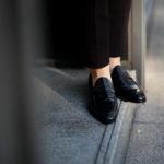 AUBERCY (オーベルシー) LUPIN 3565 Coin Loafer (ルパン) Du Puy Vitello デュプイ社ボックスカーフ ドレスシューズ ローファー NERO (ブラック) made in italy (イタリア製)のイメージ