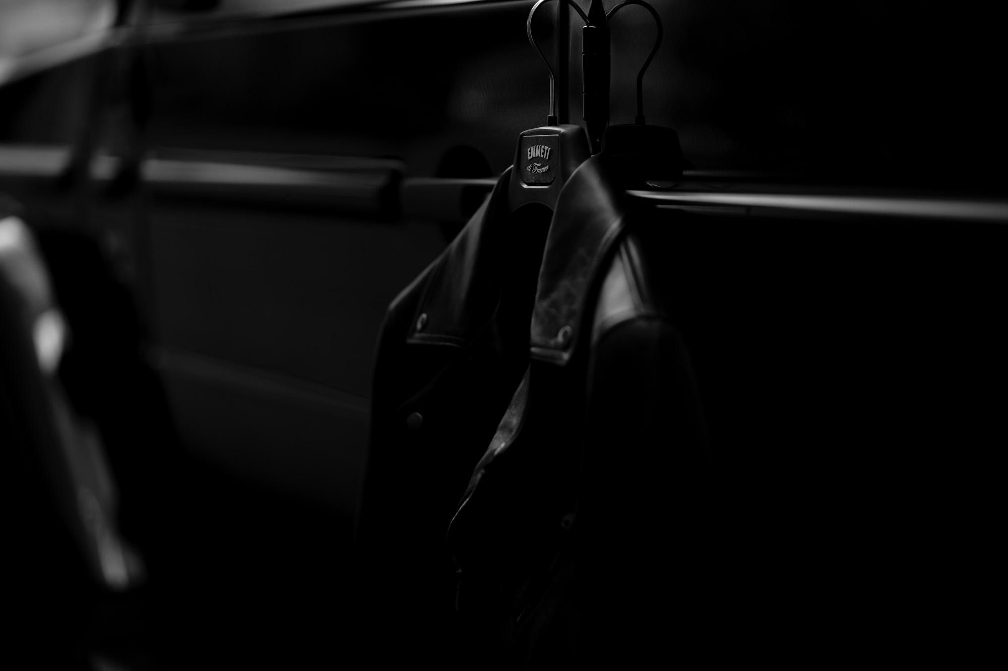 """EMMETI """"TORINO"""" Lambskin Nappa NERO 2021AW【Special Model】エンメティ トリノ ラムスキンナッパ ブラック ダブルライダース レザージャケット ライダースジャケット スペシャルモデル 2021秋冬 愛知 名古屋 Alto e Diritto altoediritto アルトエデリット"""