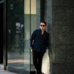 Finamore (フィナモレ) SEUL ITALIAN COLOR DENIM SHIRTS デニム ワンピースカラー シャツ STONEWASH (ストーンウォッシュ・02) made in italy (イタリア製) 2021 春夏新作【入荷しました】【フリー分発売開始】のイメージ