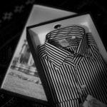 Finamore フィナモレ (2021 春夏 プレ 展示会) 愛知 名古屋 altoediritto アルトエデリット シャツ 長袖シャツ ストライプシャツ 黒ストライプ ドレスシャツ Finamore(フィナモレ) SEUL ITALIAN COLOR THOMAS MASON トーマスメイソン ワンピースカラー ストライプシャツ BLACK×WHITE(ブラック×ホワイト・07) made in italy (イタリア製) 2021春夏 【ご予約受付中】【Special Model】