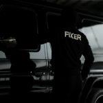 FIXER (フィクサー) FPK-02(エフピーケー02) Sweat Hoodie スウェットフーディー BLACK (ブラック) 【ご予約開始】【2020.12.18(Fri)~2020.12.26(Sat)】のイメージ