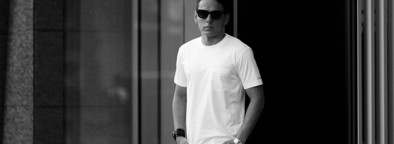 FIXER (フィクサー) FTS-01(エフティーエス01) 2 Print Crew Neck T-shirt 2プリントTシャツ WHITE (ホワイト) 【発売中】のイメージ