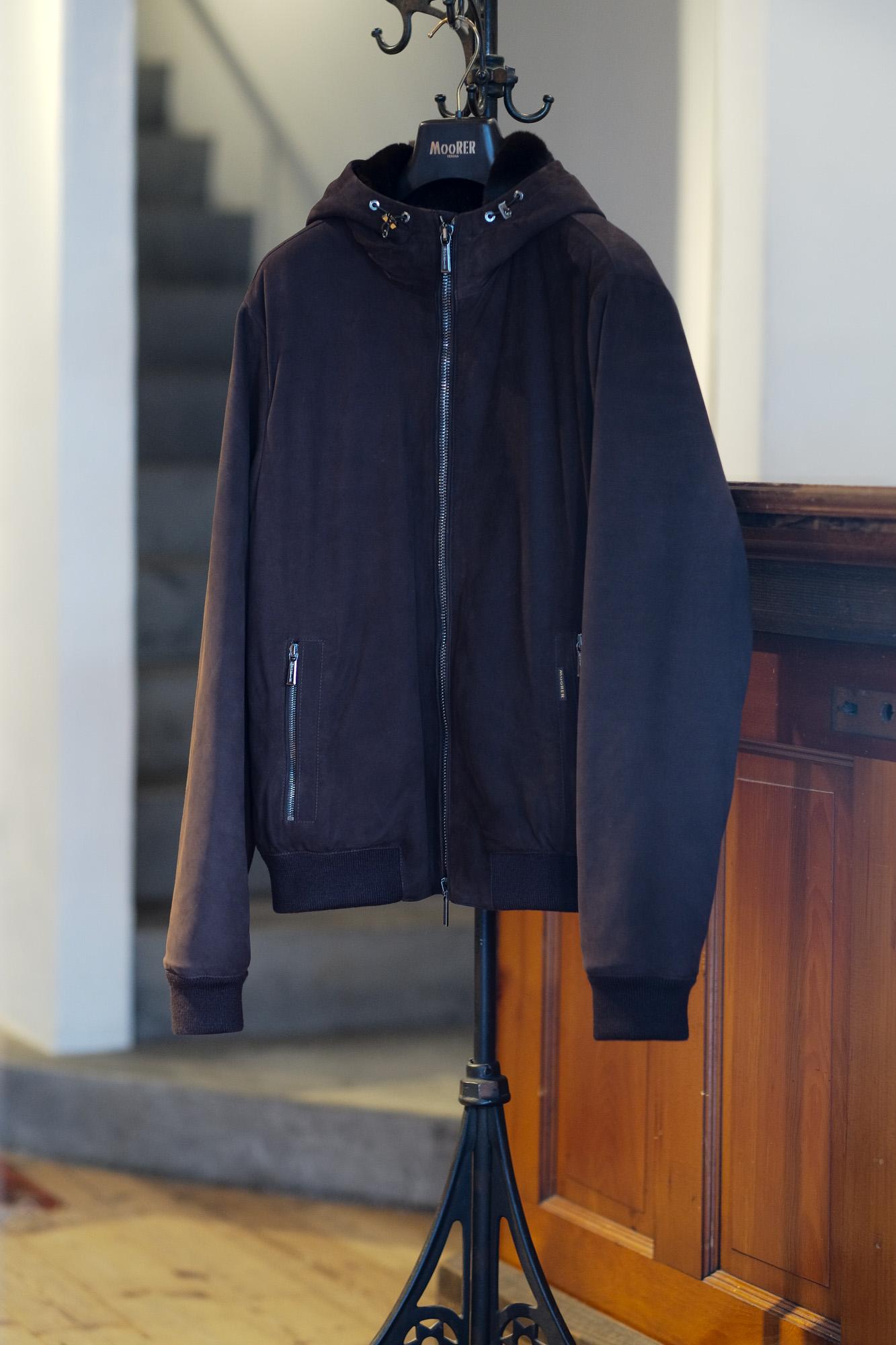 """MOORER """"ONIRO-FUR-NK"""" Leather Down Jacket 2021AW /// SABBIA(ベージュ・03),VISONE(グレージュ・33),BEAVER(ライトブラウン・34),MORO(ブラウン・36),FOREST(オリーブ・55),BLUE(ネイビー・76),NERO(ブラック・08) 【2021 秋冬 受注会開催 2020.12.14(Mon)~2020.12.26(Sat)】 愛知 名古屋 Alto e Dirtto altoediritto アルトエデリット ムーレー ダウンジャケット BRET ONIRO FANTONI BOLGI BOND FAYER HELSINKI HARRIS BARBIERI SIRO MORRIS ダウンコート ダウンベスト ダウン"""