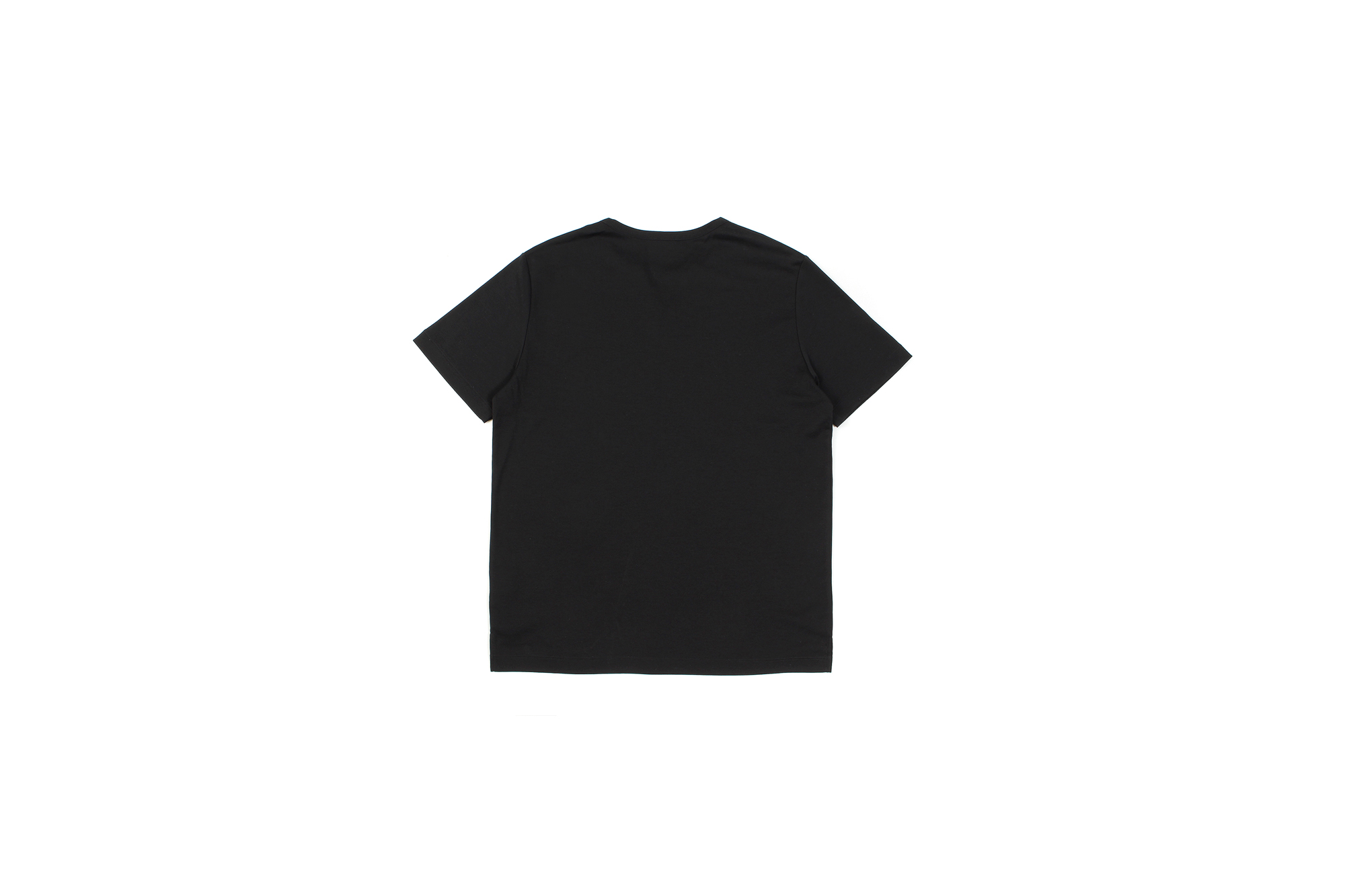 nomiamo (ノミアモ) SUPIMA 80/1 Key Neck T-shirt スーピマコットン キーネック Tシャツ BLACK (ブラック) 2021 春夏 【Alto e Diritto別注】【Special限定モデル】愛知 名古屋 Altoediritto アルトエデリット カットソー 半袖Tシャツ