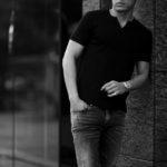 nomiamo (ノミアモ) SUPIMA 80/1 Key Neck T-shirt スーピマコットン キーネック Tシャツ WHITE (ホワイト) 2021 春夏 【Alto e Diritto別注】【Special限定モデル】【ご予約受付中】のイメージ