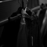 ALTACRUNA (アルタクルーナ) Camouflage Leather Hoodie Jacket (カモフラージュ レザー フーディー ジャケット) Lamb Leather ラムレザー × ナイロン フーディー ジャケット NERO (ブラック・0490) Made in italy (イタリア製) 2021 春夏のイメージ