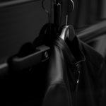 ALTACRUNA (アルタクルーナ) Reversible Leather Jacket (リバーシブル レザー ジャケット) Lamb Leather (ラムレザー) レザー × ナイロン リバーシブル シングルライダースジャケット NERO (ブラック・0010) Made in italy (イタリア製) 2021 春夏 愛知 名古屋 Alto e Diritto altoediritto アルトエデリット