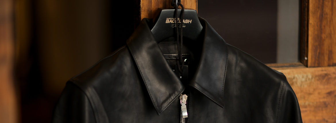 "BACKLASH The Line ""T-231"" 925 STERLING SILVER GUIDI CALF LEATHER BLACK 【2021 秋冬 受注会開催 2021.1.15~2021.1.17】のイメージ"