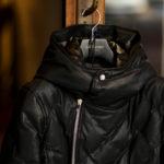 """BACKLASH The Line """"T-232"""" 925 STERLING SILVER GUIDI CALF LEATHER BLACK 【2021 秋冬 受注会開催 2021.1.15~2021.1.17】バックラッシュ ザ・ライン パイソンカーフレザー レザーダウンジャケット ダブルライダース ライダースジャケット レザージャケット 925 スターリングシルバー 愛知 名古屋 Alto e Diritto altoediritto アルトエデリット"""