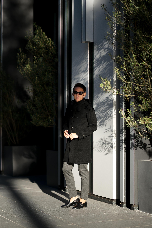 cuervo bopoha (クエルボ ヴァローナ) Sartoria Collection (サルトリア コレクション) David (デヴィッド) Cashmere カシミア ダッフルコート  BLACK (ブラック) MADE IN JAPAN (日本製) 2021 愛知 名古屋 altoediritto アルトエデリット ダッフル カシミヤ