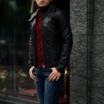 cuervo bopoha (クエルボ ヴァローナ) Satisfaction Leather Collection (サティスファクション レザー コレクション) East West (イーストウエスト) WINCHESTER (ウィンチェスター) BUFFALO LEATHER (バッファロー レザー) レザージャケット BLACK (ブラック) MADE IN JAPAN (日本製) 2021のイメージ