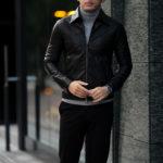 cuervo bopoha (クエルボ ヴァローナ) Satisfaction Leather Collection (サティスファクション レザー コレクション) JACK (ジャック) LAMB LEATHER (ラムスキン) レザージャケット BLACK (ブラック) MADE IN JAPAN (日本製) 2021のイメージ