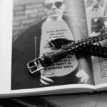 cuervo bopoha (クエルボ ヴァローナ) Sartoria Collection (サルトリア コレクション) Lance (ランス) Cow Hide Leather (カウハイド レザー) メッシュベルト BLACK (ブラック) Made in Italy (イタリア製) 2021 新作 【入荷しました】【フリー分発売開始】のイメージ